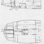 Inboard engine layout