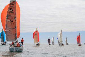Impala Keelboats competing at the