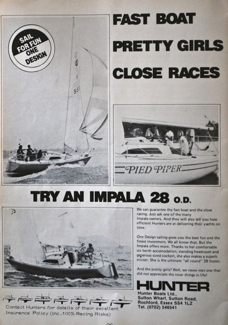 Impala 28 Offshore One Design