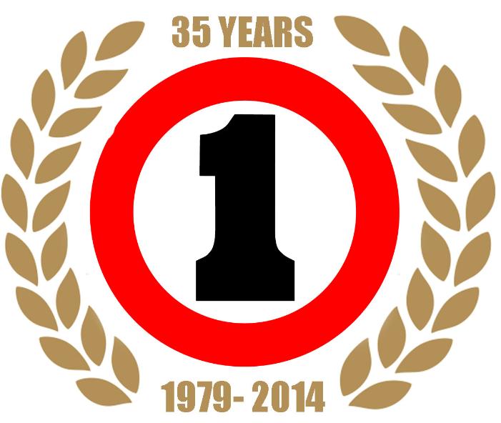 35th logo